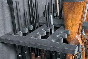 Safe Gun Rack Slide