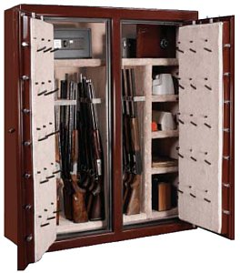 Sportsmansteel Pentagon Double Wide 100 gun safe