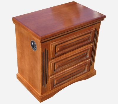 Hidden Biometric Gun Safe Nightstand