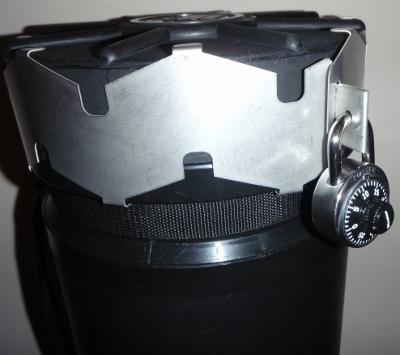 Monovault lock