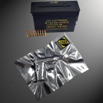The New ZCORR Vacuum Seal Rust Prevention Bag