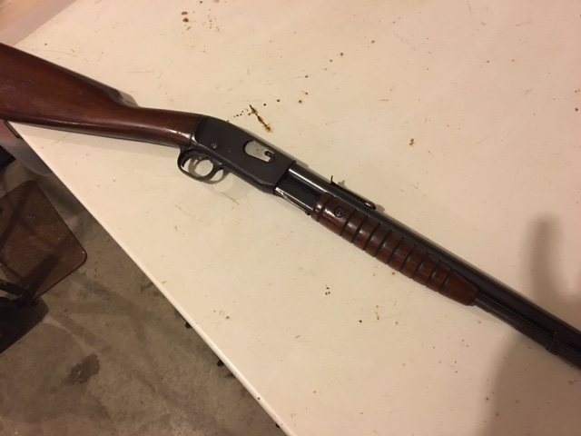 Remington Model 12A 22 LR Pump Action
